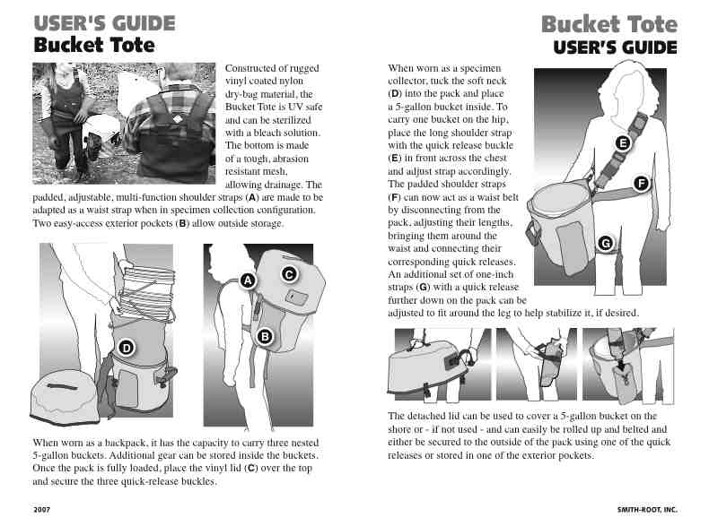 instruction manual 2-page spread